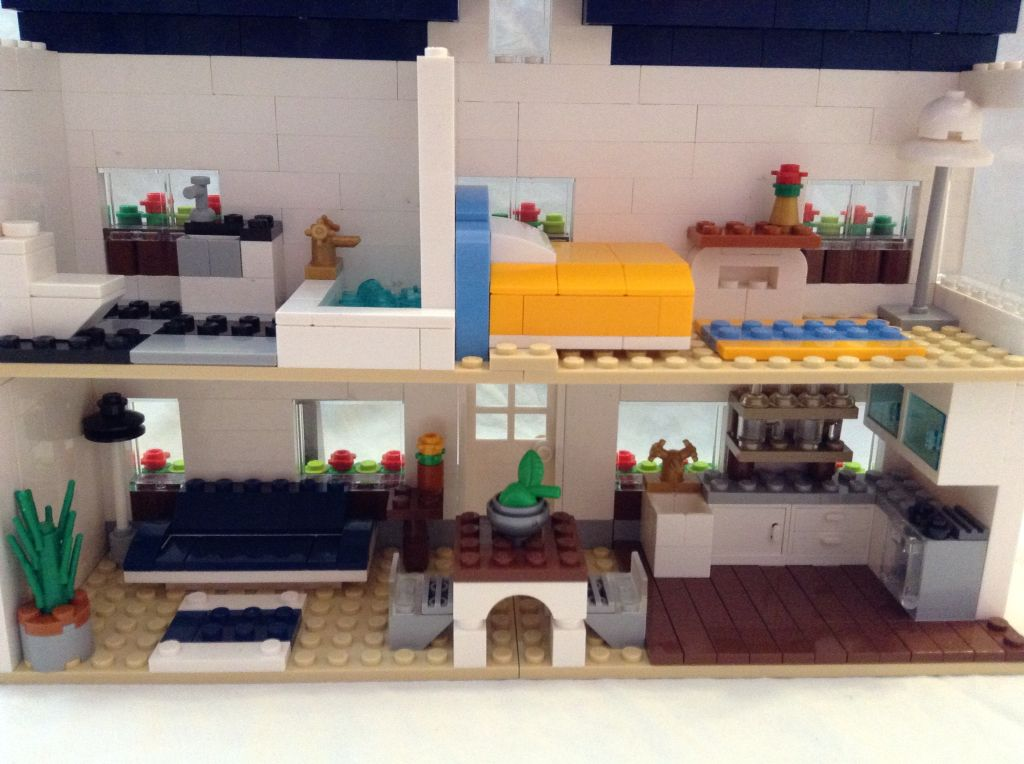 Modern Lego House Interior