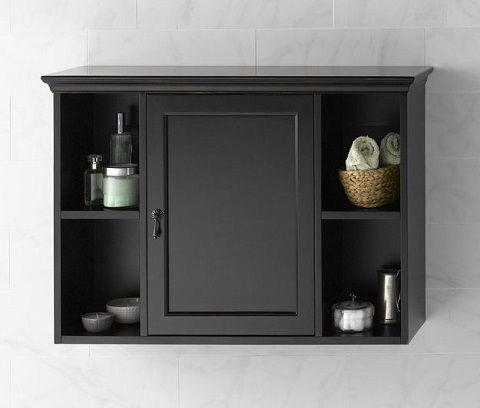 Bathroom Wall Cabinets, Black Wall Cabinet For Bathroom