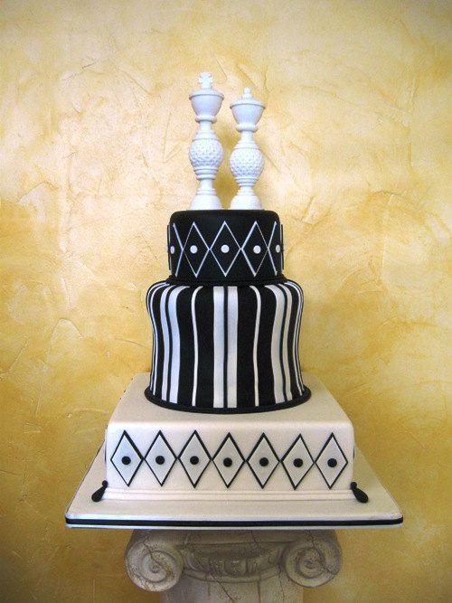 Wonderland Wedding Chess Piece Couple Cake Topper. $48.00, via Etsy ...