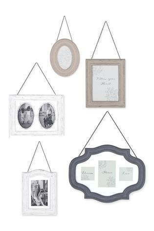 Buy Set Of 5 Hanging Frames From The Next Uk Online Shop Hanging Frames Frame Multi Photos Frame