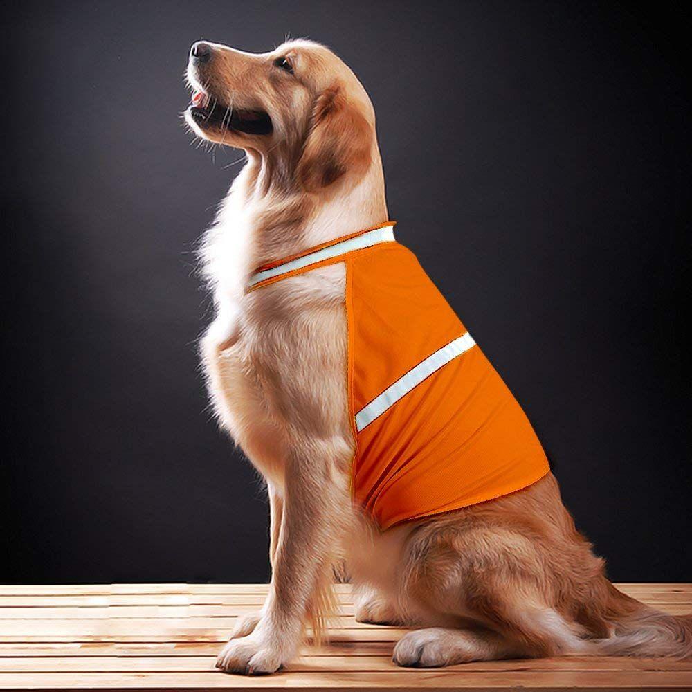 Clan_x reflective dog vest adjustable lightweight dog