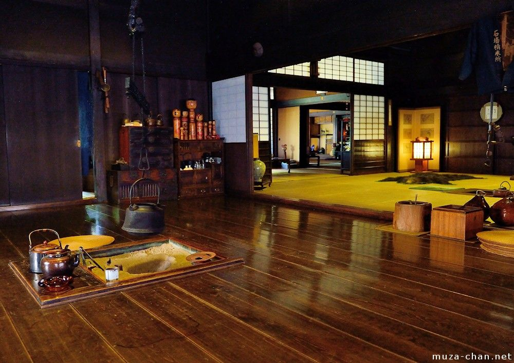 Japanese House Inside old traditional japanese merchant house | japan style home design