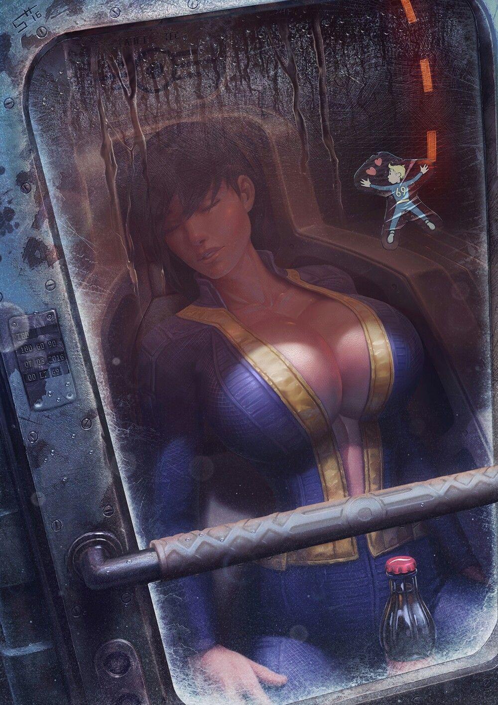 Anime Porn Comics Fallout atomic beauty fallout 4 mod on nexus | fallout art, fallout