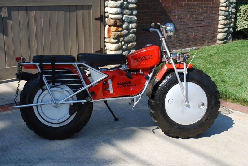 two chains 1980 rokon ranger awd motorcycles honda. Black Bedroom Furniture Sets. Home Design Ideas