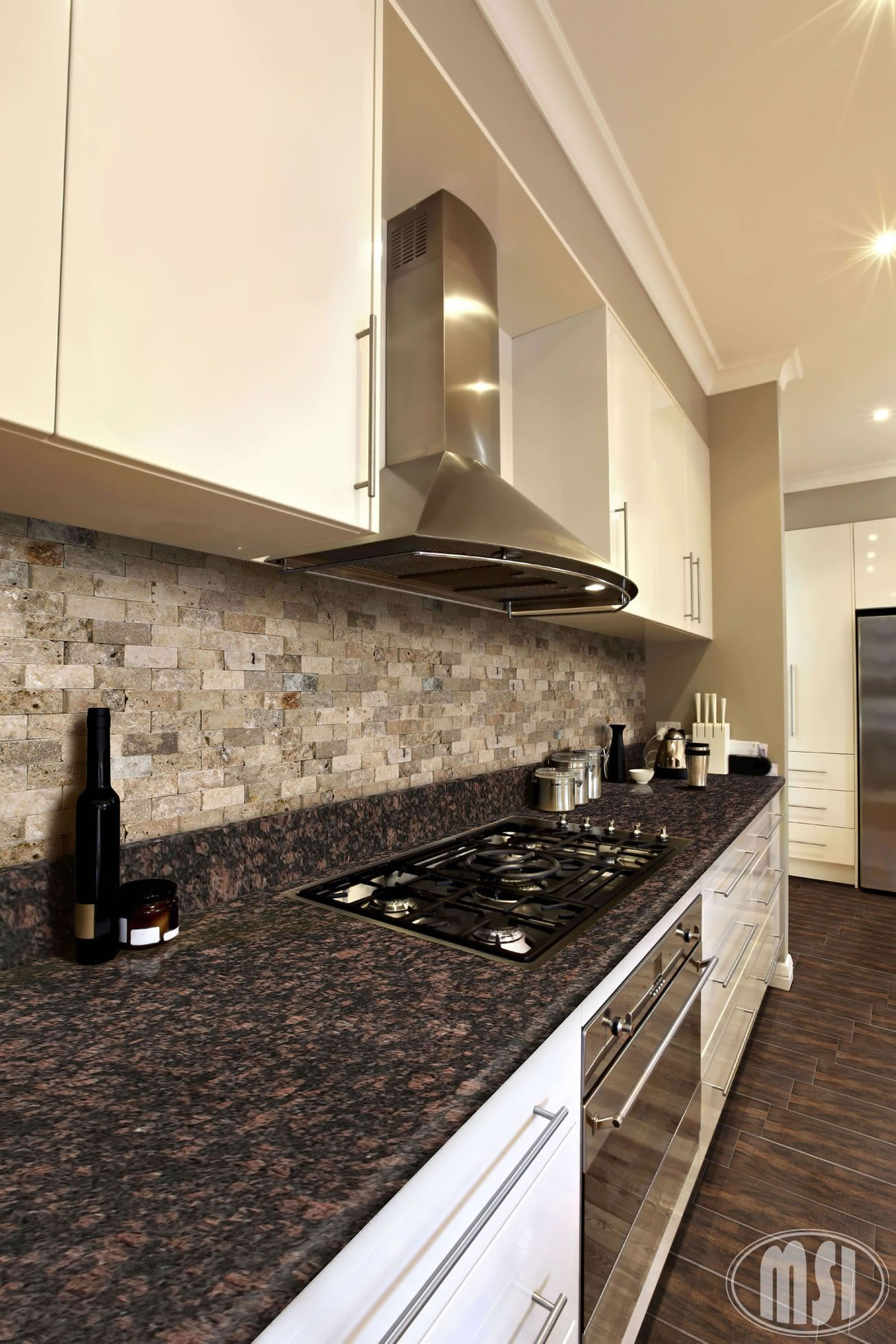 TAN BROWN {Available in 2cm & 3cm} | Brown granite ... on Black Granite Countertops With Brown Cabinets  id=65029