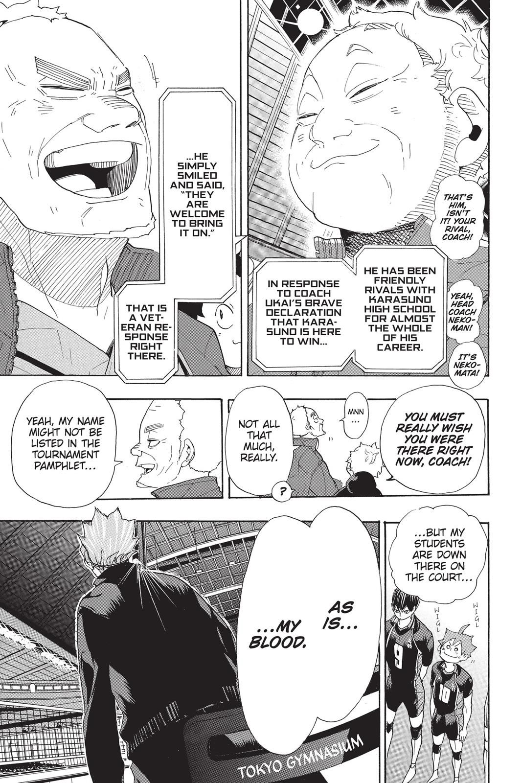 Haikyuu Chapter 293 Read Haikyuu Manga Online In 2020 Haikyuu Haikyuu Manga Manga (haikyu!!, volleyball) is a japanese shonen manga series written and illustrated by haruichi furudate. pinterest