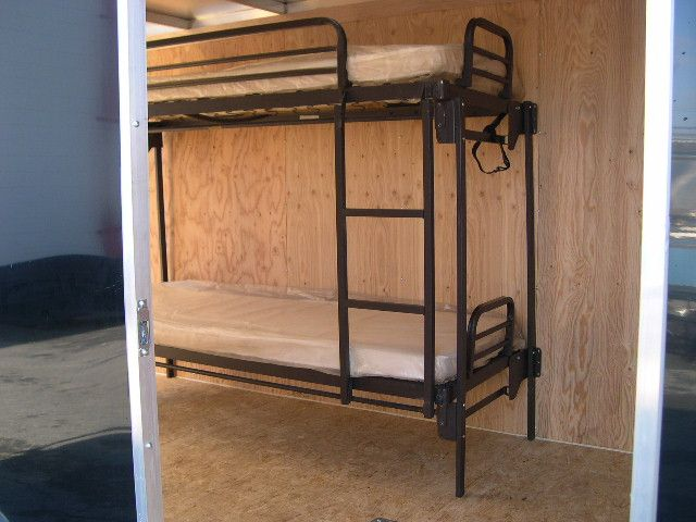 Fold Up Bunk Bed For Trailers On Clearance Sale At Trailersuperstore