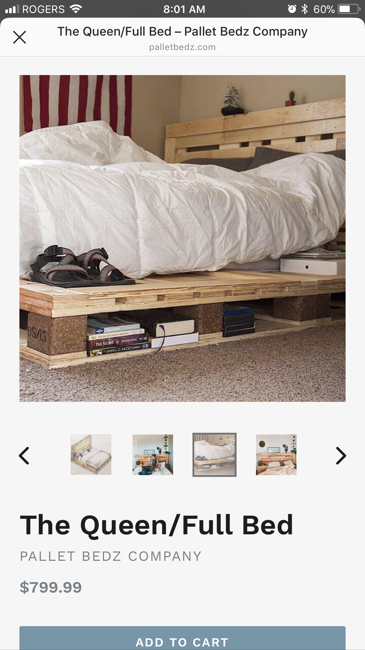 Pin by e r i n on Bedroom Pallet beds, Home decor, Full bed