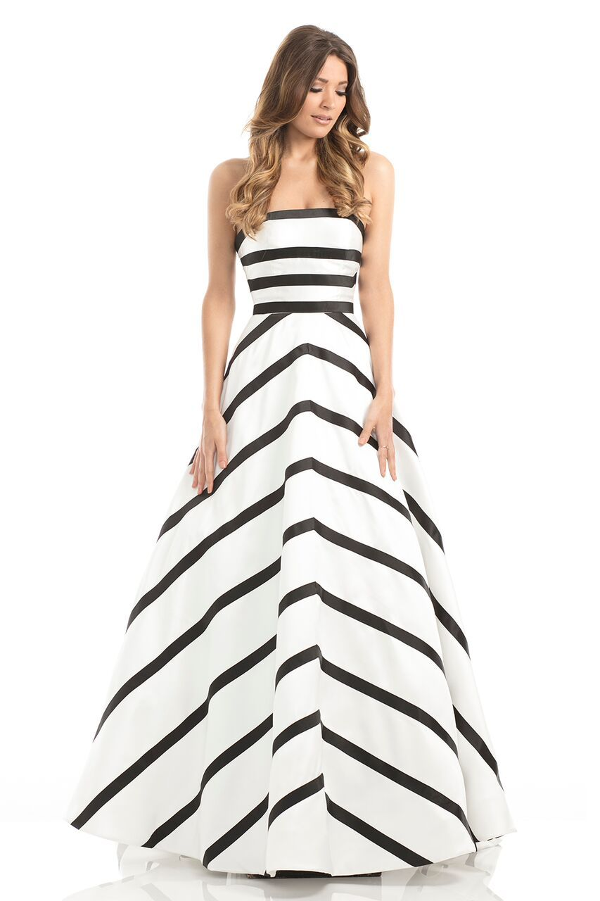 Visit the post for more black and whit prom dress at hopeus bridal