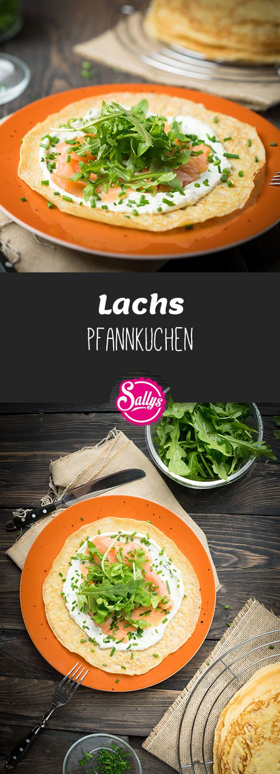 Photo of I heartily like the pancake best with smoked salmon, rocket and …
