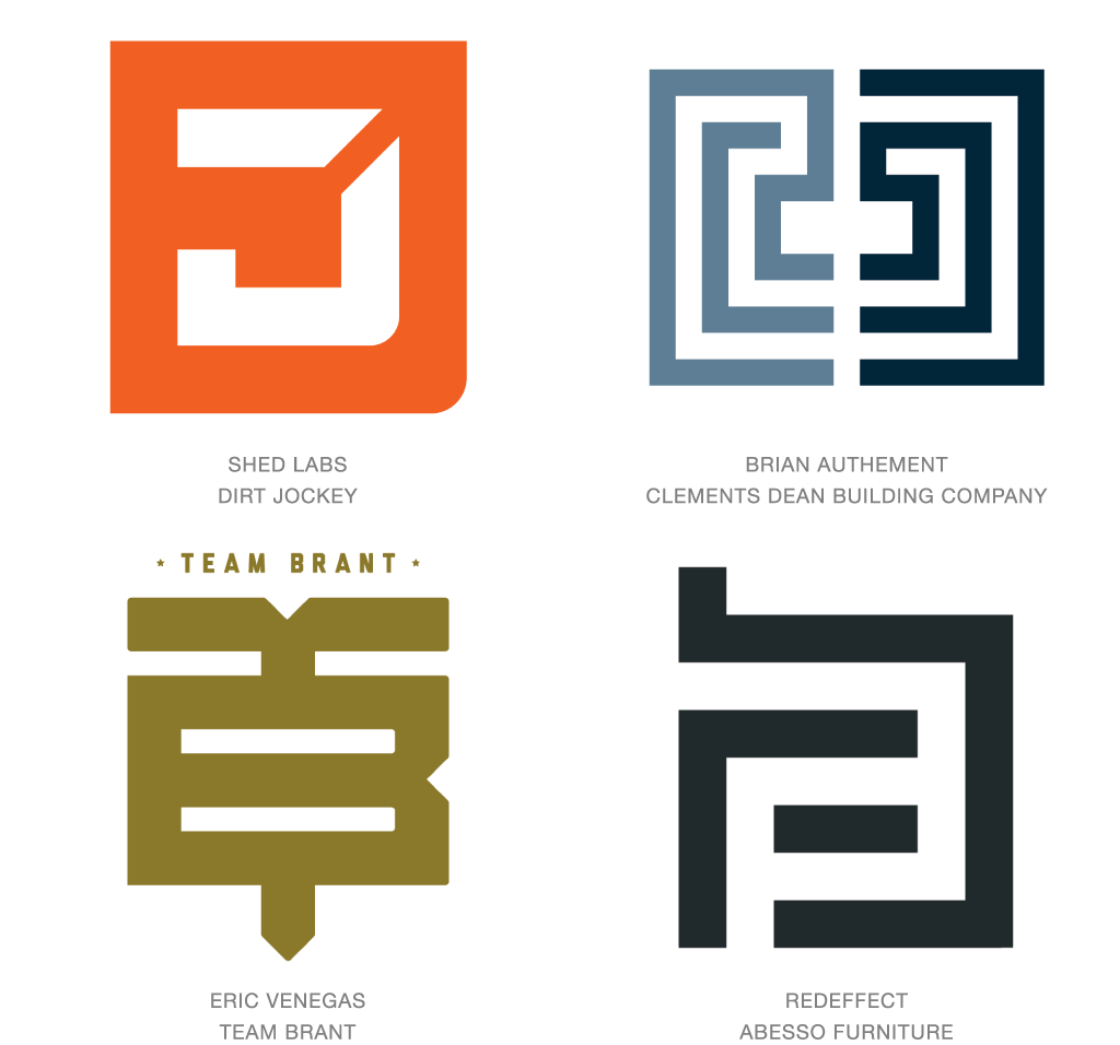 Furniture logo inspiration - The Top Best Logo Designs From As Well As A Look At The 2016 Logo Branding Design Trends And An Inspirational Logo Design Gallery Showcase