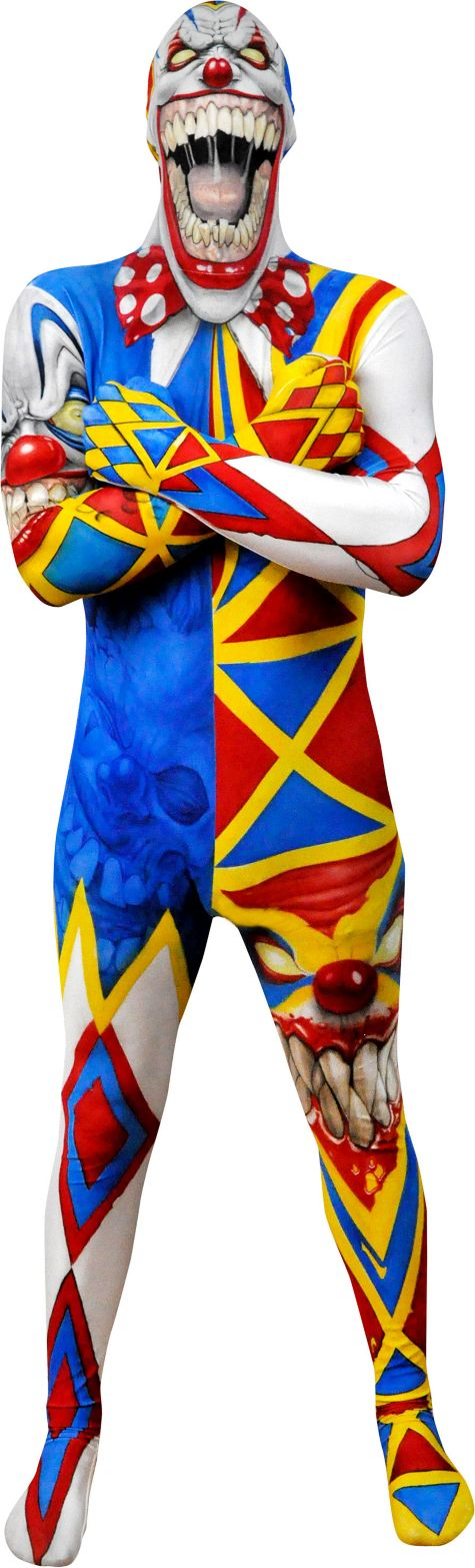 Adult Clown Monster Morphsuit Party City Costumes