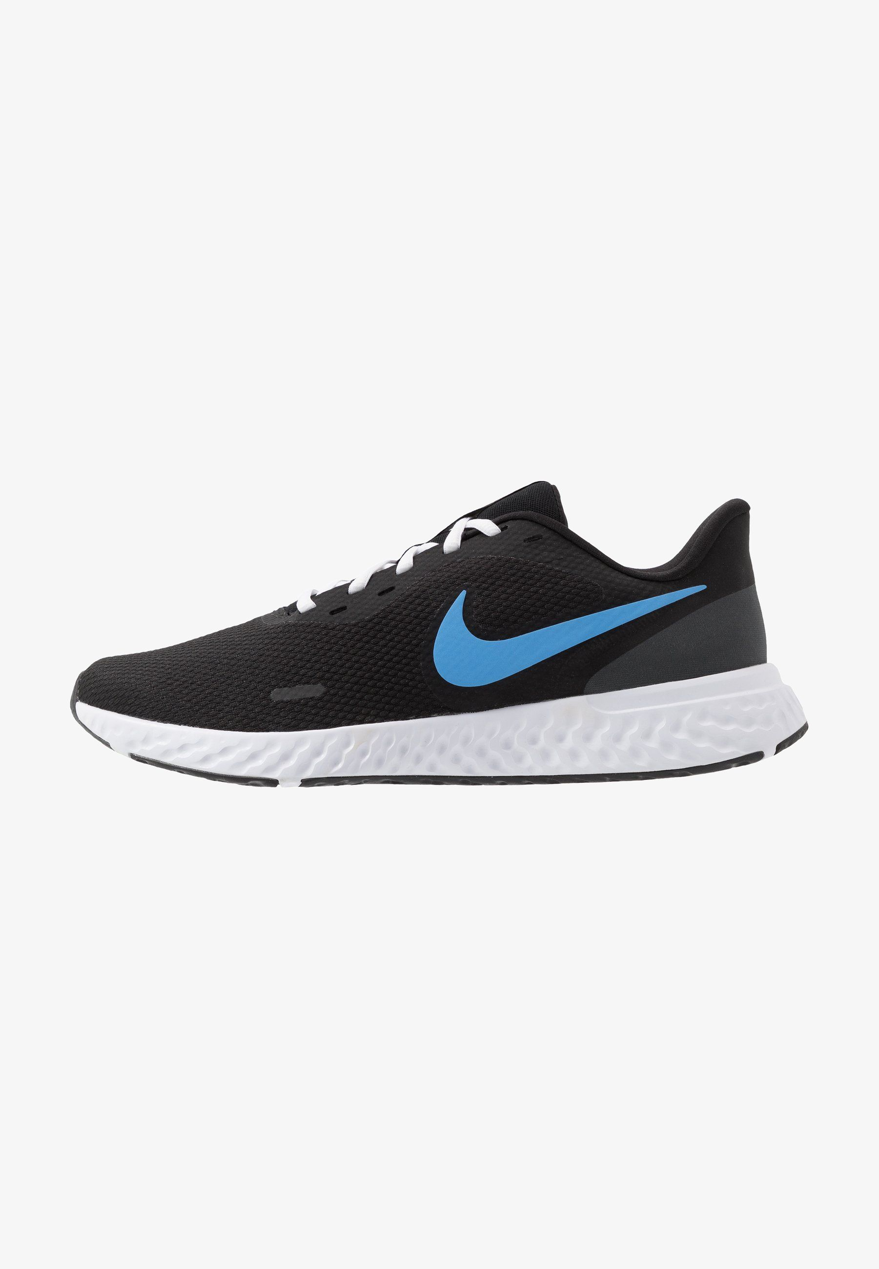 región Intención fuerte  Nike Performance REVOLUTION 5 - Zapatillas de running neutras -  black/university blue/laser orange/white/anthracite - Zaland… en 2020 |  Zapatillas running, Nike, Zapatillas