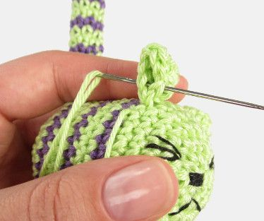 reverse single crochet stitch
