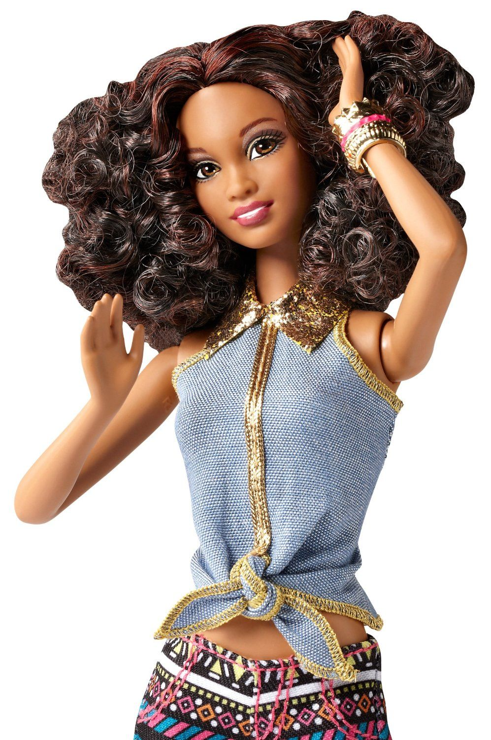 Barbie so in style tricelle doll and fashion
