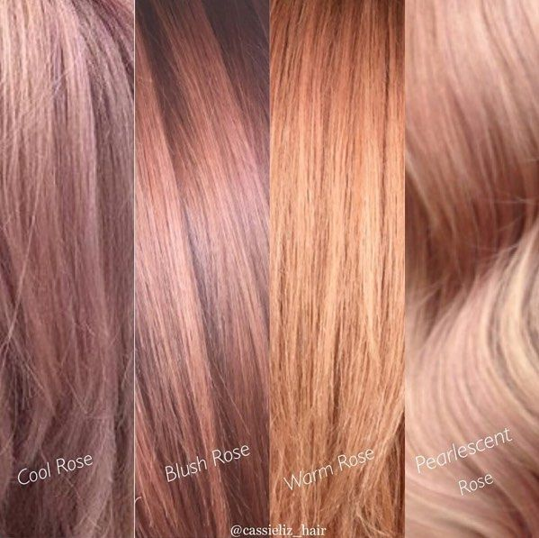 Pin By Emily Martinez On Hair Pinterest Hair Coloring Rose Gold