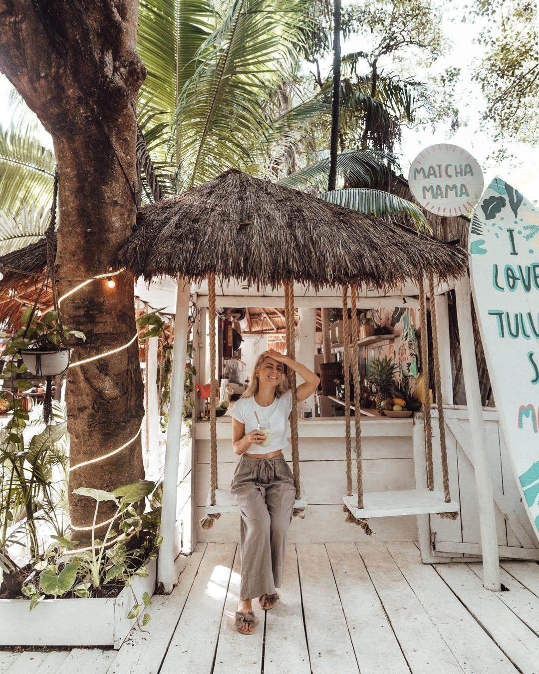 Finduslost On Instagram Tulum Mexico Tulum Rivieramaya Matcha Mexico Playa Del Carmen Fotos Viajes A Cancun Decorando Porches