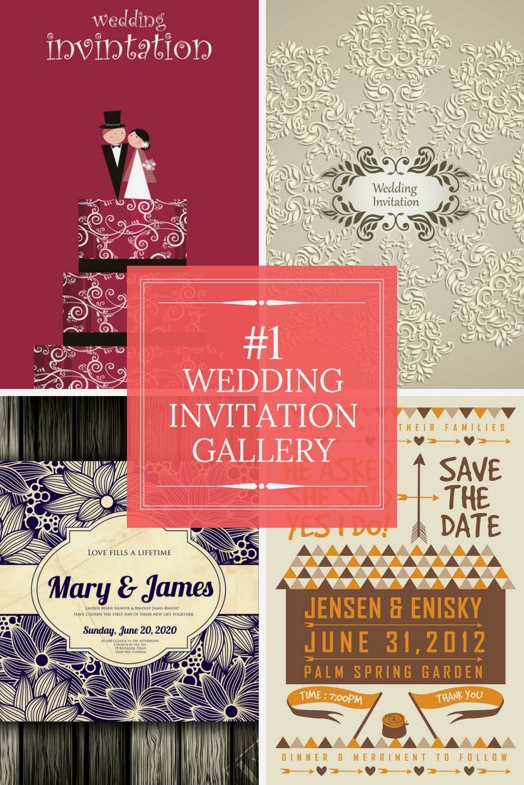 Fully Free Wedding Invitation Cards Samples - Start Creating Your ...