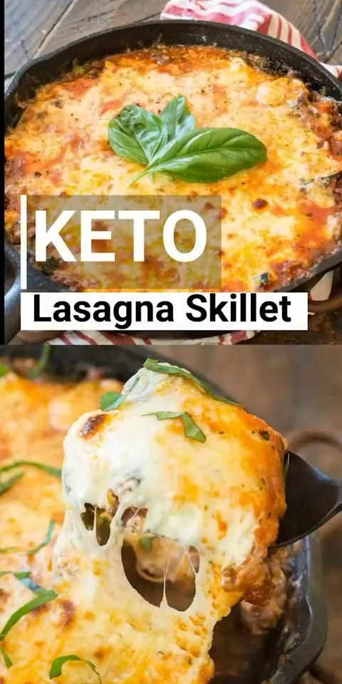 Photo of Keto Lasagna Skillet – Low Carb Recipes