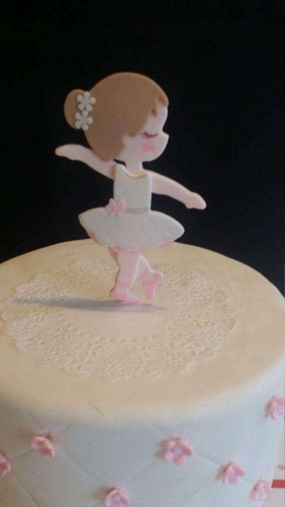 Ballerina Cake Topper Ballerina Baby Shower Ballet Cake Topper