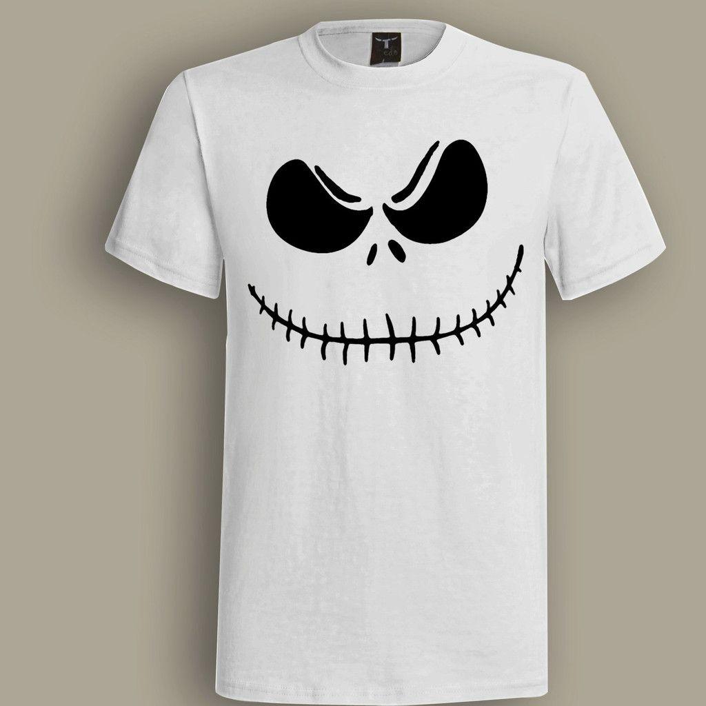 Jack Skeleton White T shirt, T shirt for Men, Women, Girl, Boy, XS, S, M, L, XL, XXL, 3XL,  Size, Customized