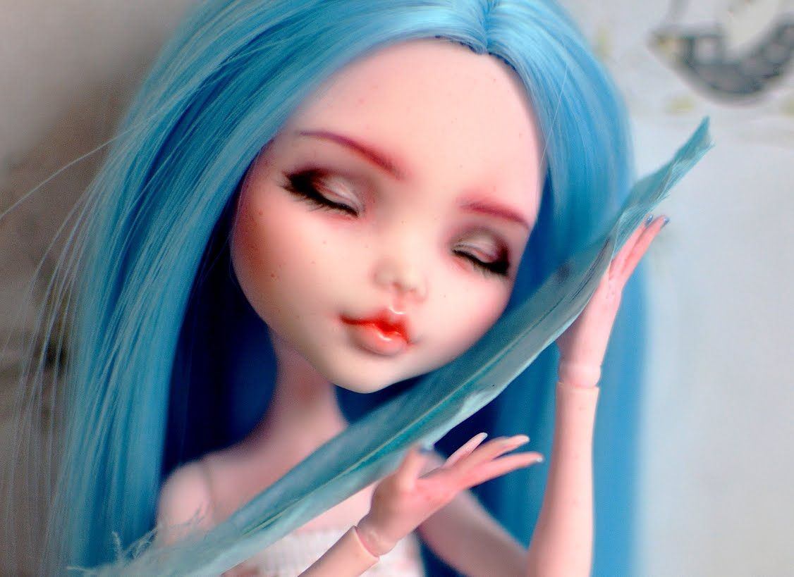 draculaura faceup tutorial customized monster high doll