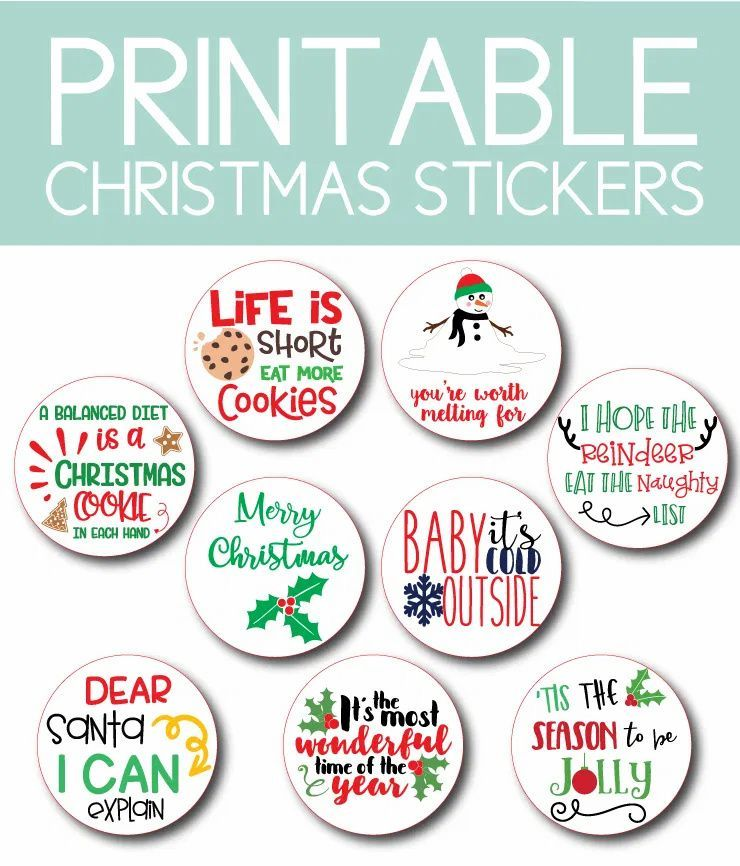 Printable Christmas Instant Downloads You Ll Love This Holiday Aesthetic Journeys Christmas Printables Christmas Stickers Printable Christmas Stickers