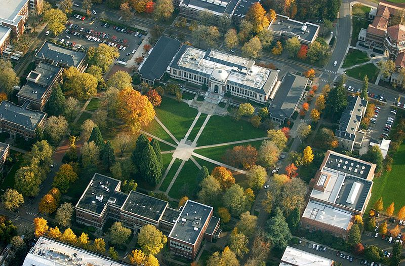 Oregon State University By Air Portland State University Oregon State University Corvallis Oregon