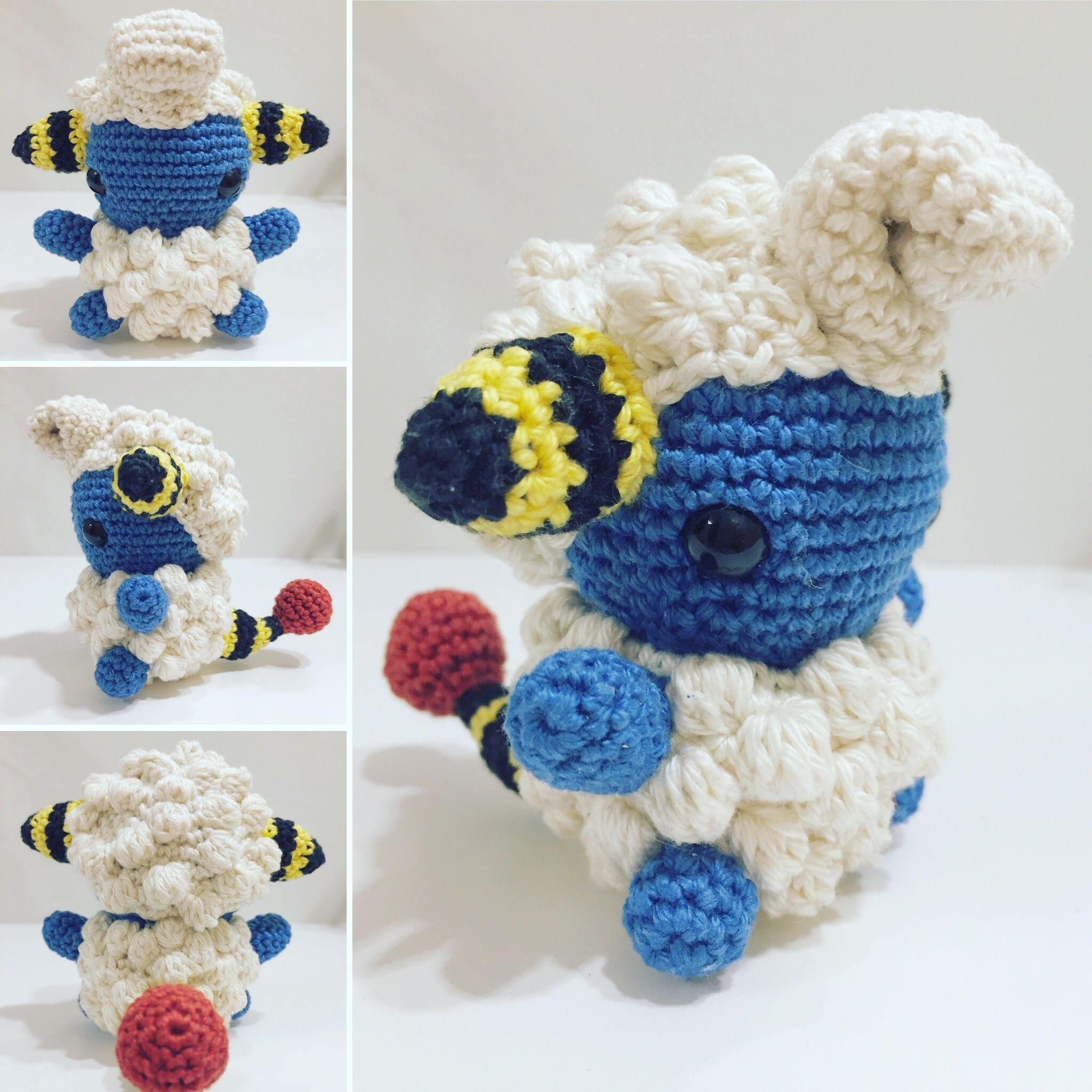 Voltilamm /Mareep häkeln /crochet | Crochet | Pinterest | Selfmade
