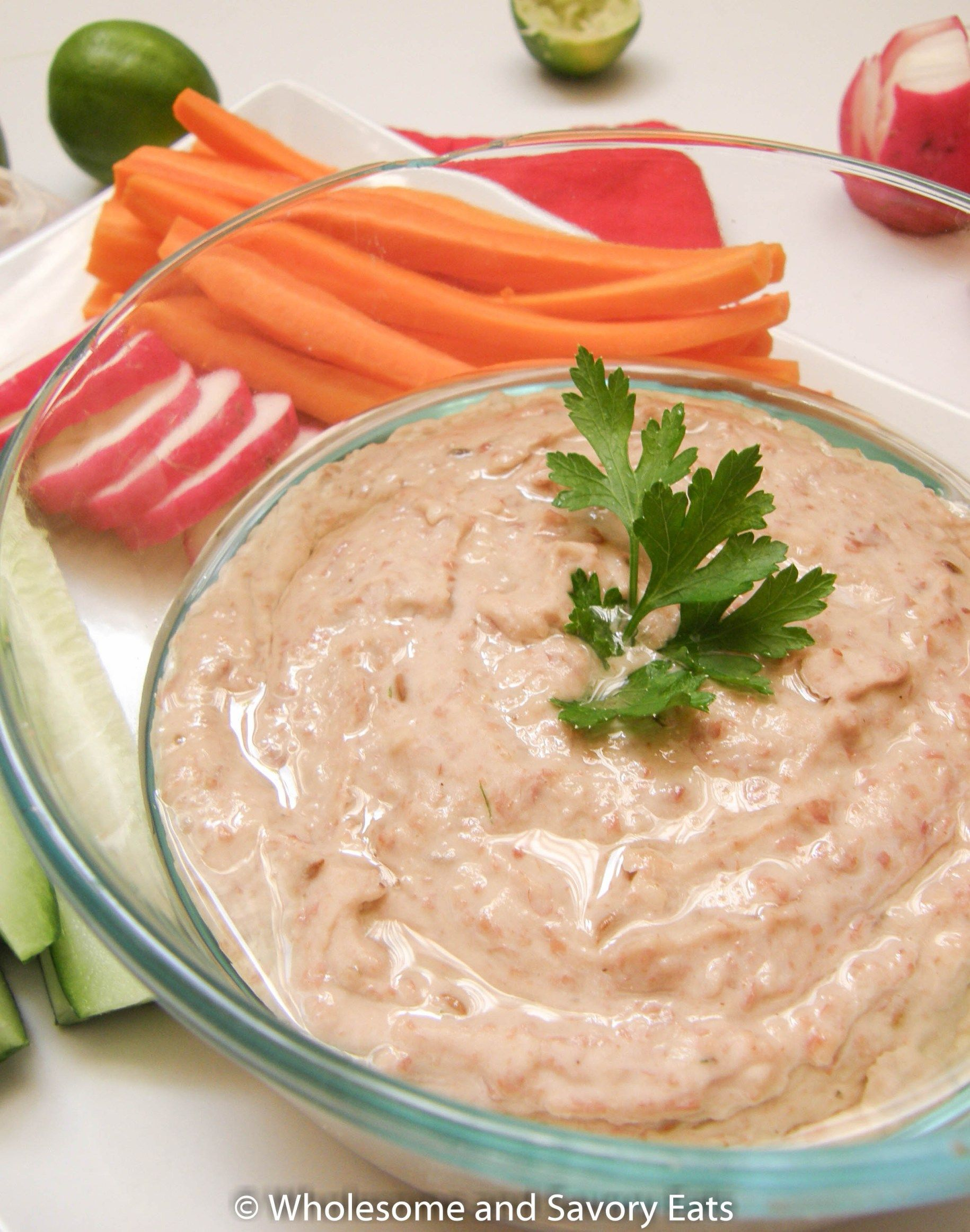 This Meatless Monday: Red Kidney Bean Hummus with Toasted Cumin Seeds is great when you simply want something that is nutritious, quick and easy.