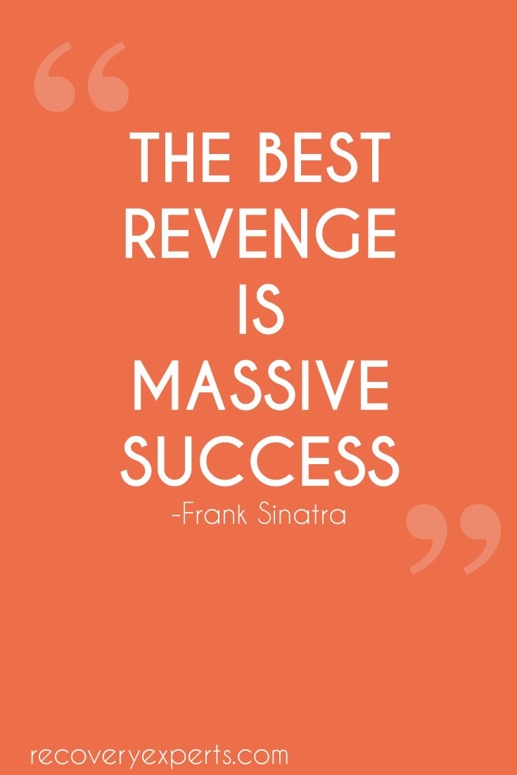 motivational poster Massive success is the best revenge
