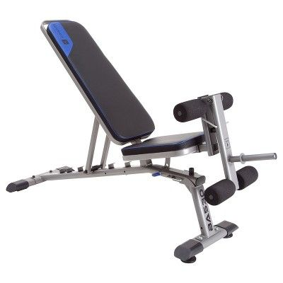 Banc De Musculation Renforcé Inclinable Déclinable Domyos