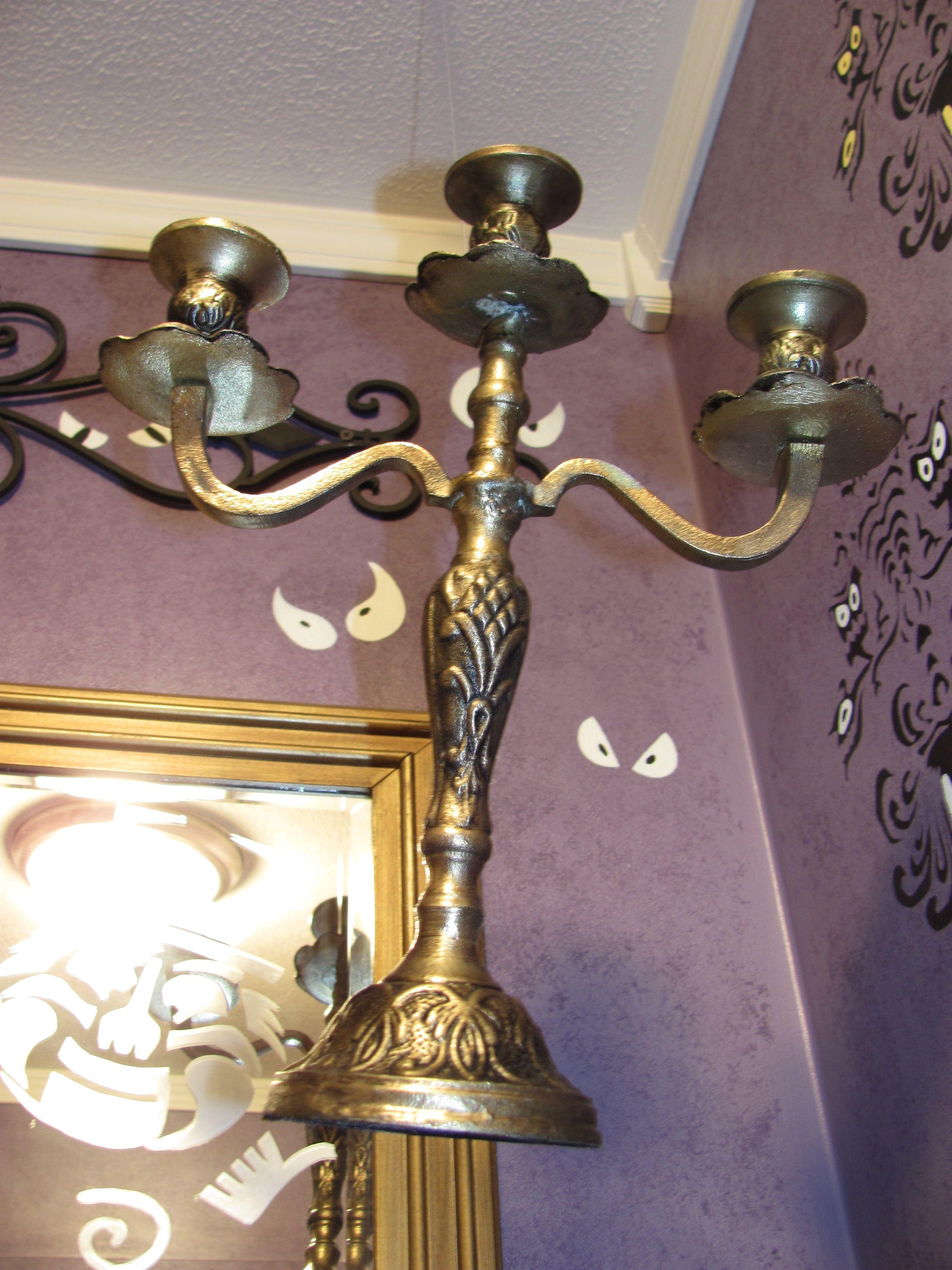 My Haunted Mansion Bathroom Floating Chandelier