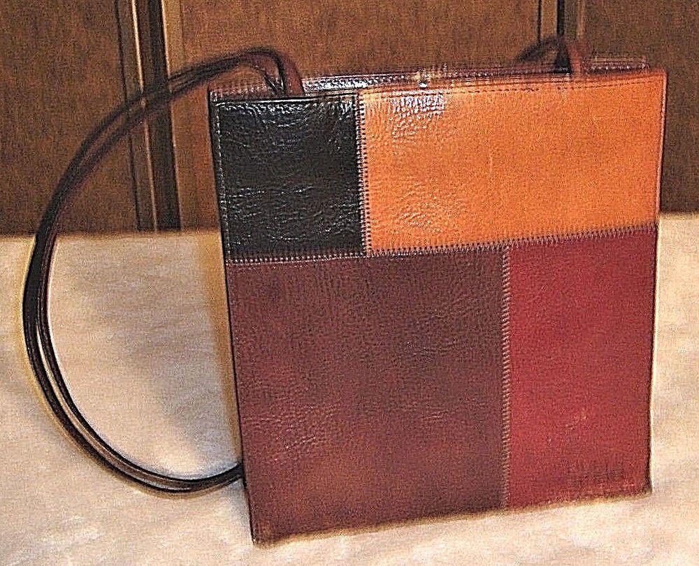 Pelle Studio Wilson Leather Multicolor Italian Leather