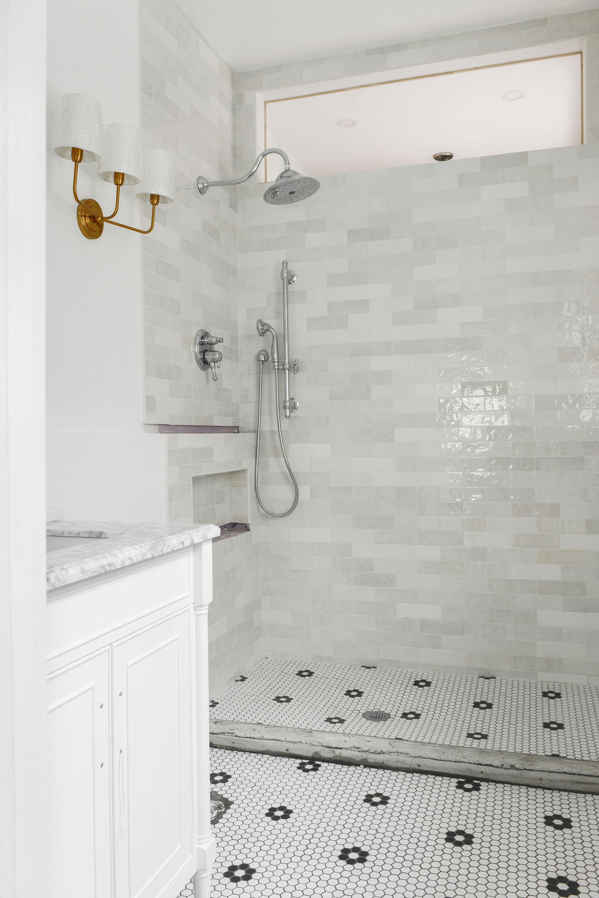 shower tile shower remodel