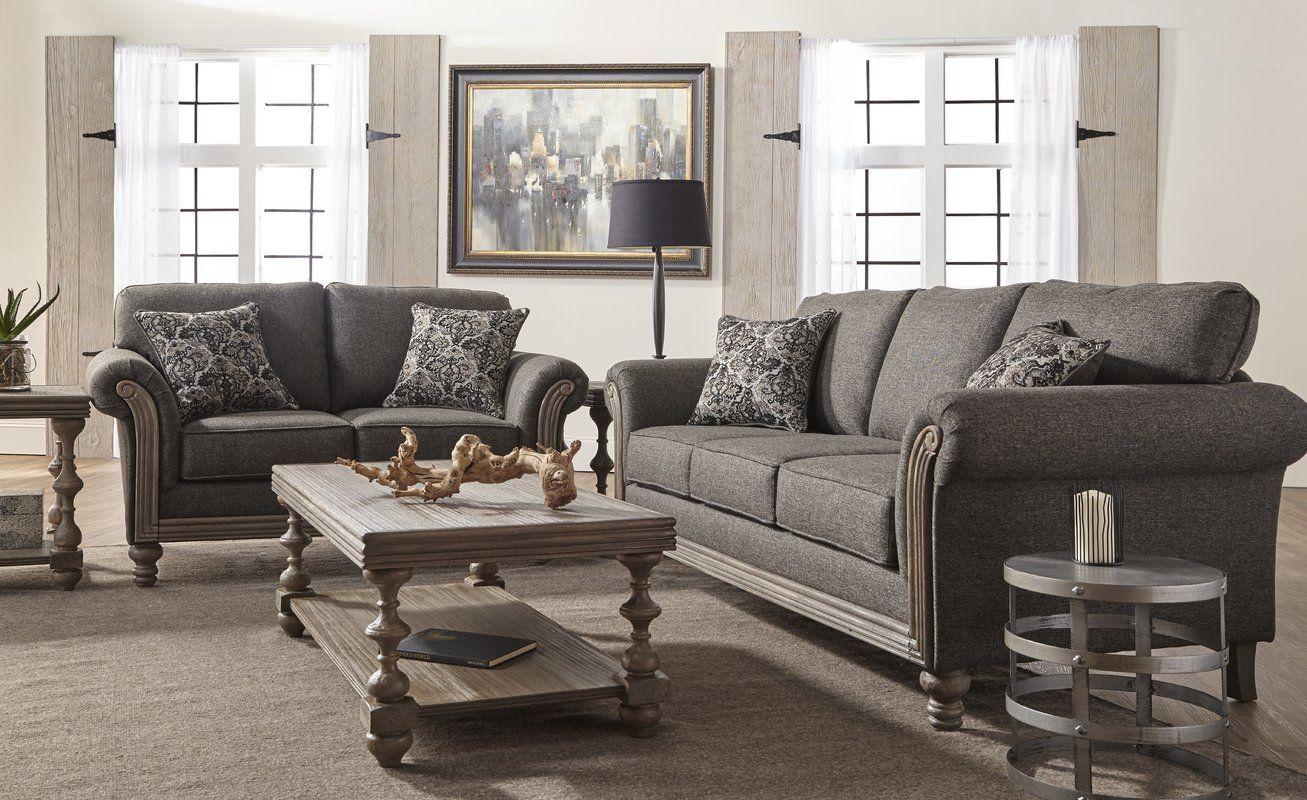 Allmon Configurable Living Room Set Living Room Sets Wayfair