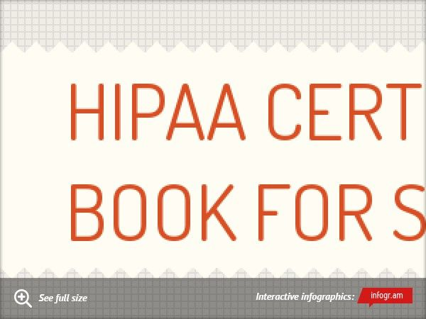 Infographic: HIPAA Certification book For Students - | HIPAA ...