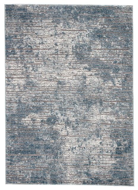 Jaipur Living Violen Abstract Blue Gray Area Rug 4 3 X6 1