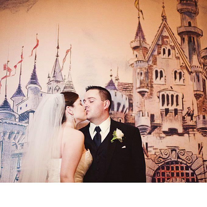 An Elegant Wedding In Disneyland