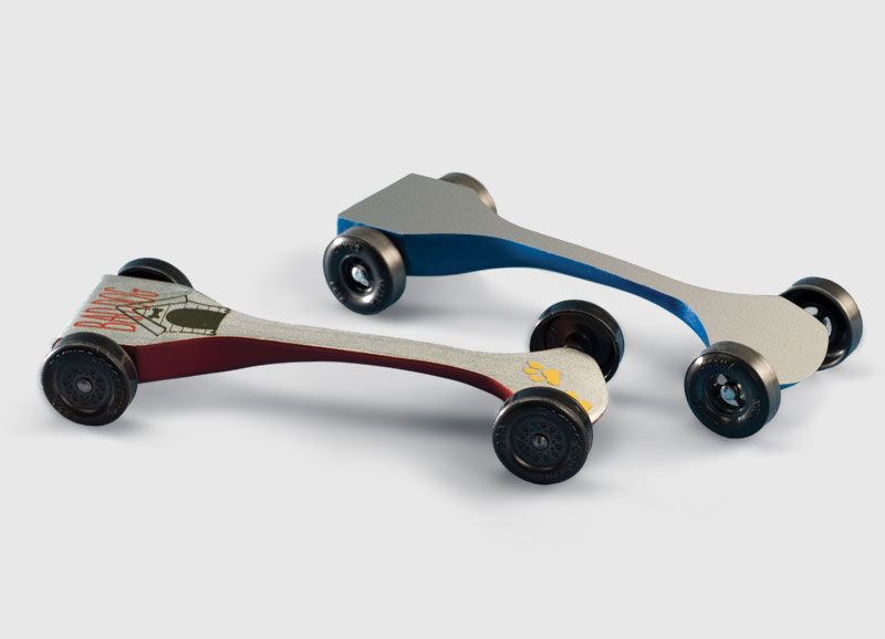Speed Swoop Pattern  Pinewood Derby Cars    Pinewood
