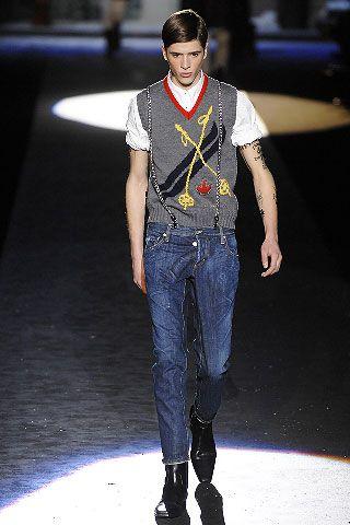 Dsquared² Fall 2008 Menswear