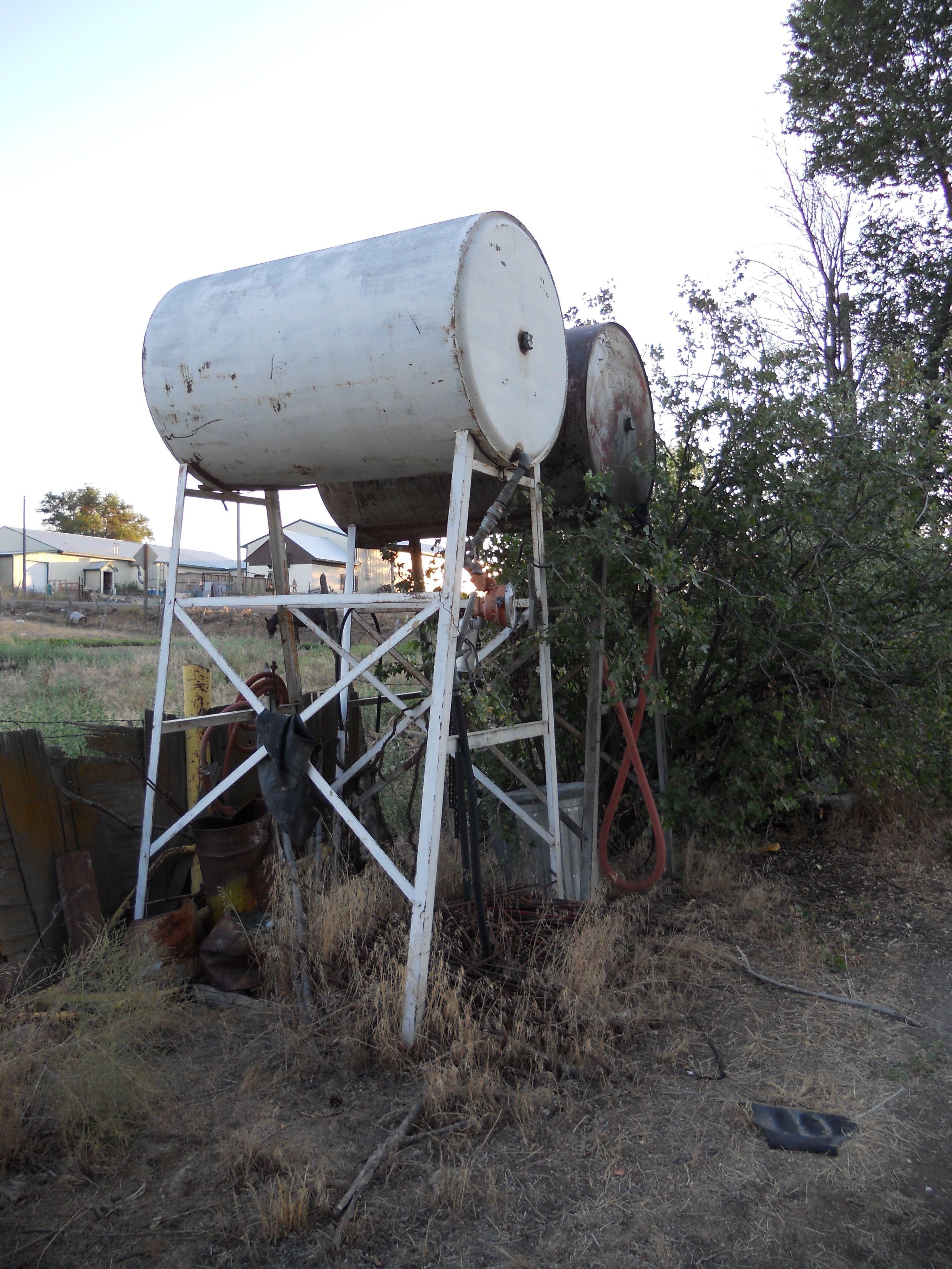 old farm fuel tanks in idaho