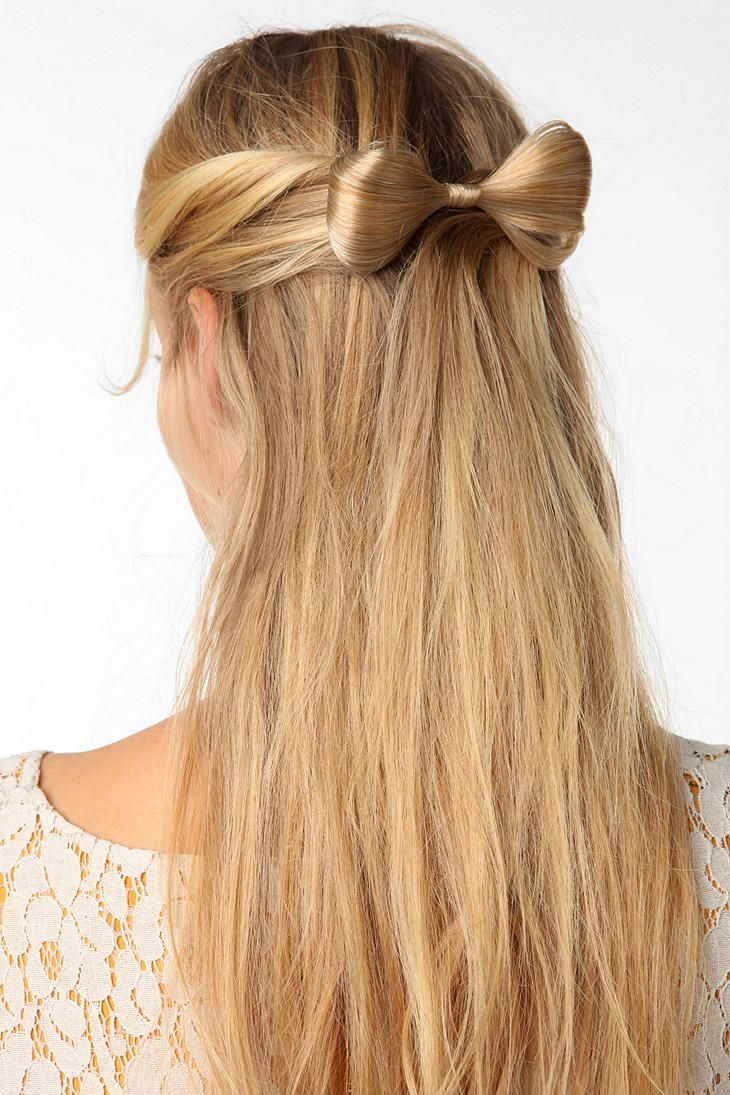 Bow Hairstyle A Hair Bow Barrette But For $42 Maybe Not Hairr  Pinterest