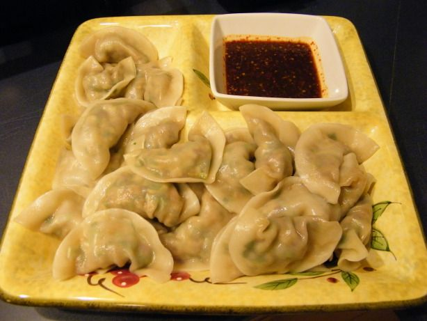 Taiwanese Dumplings with chili sauce?