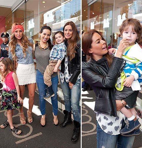 Galilea Montijo, Geraldine Bazán y Claudia Lizaldi… desfile de mamás 'chic'