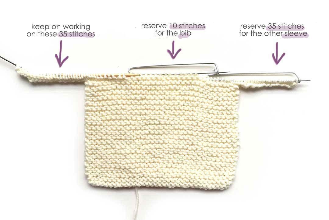 Garter Stitch Baby Sweater - EASY Pattern & Tutorial ...
