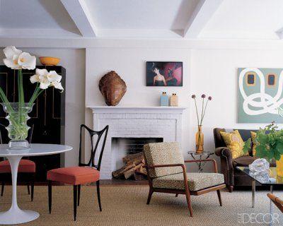 One of my favorite living spaces ever- designer Philip Lim's apartment