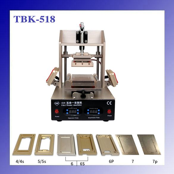 TBK-518 5in1 LCD Refurbish Machine Middle Bezel Separator/Frame ...