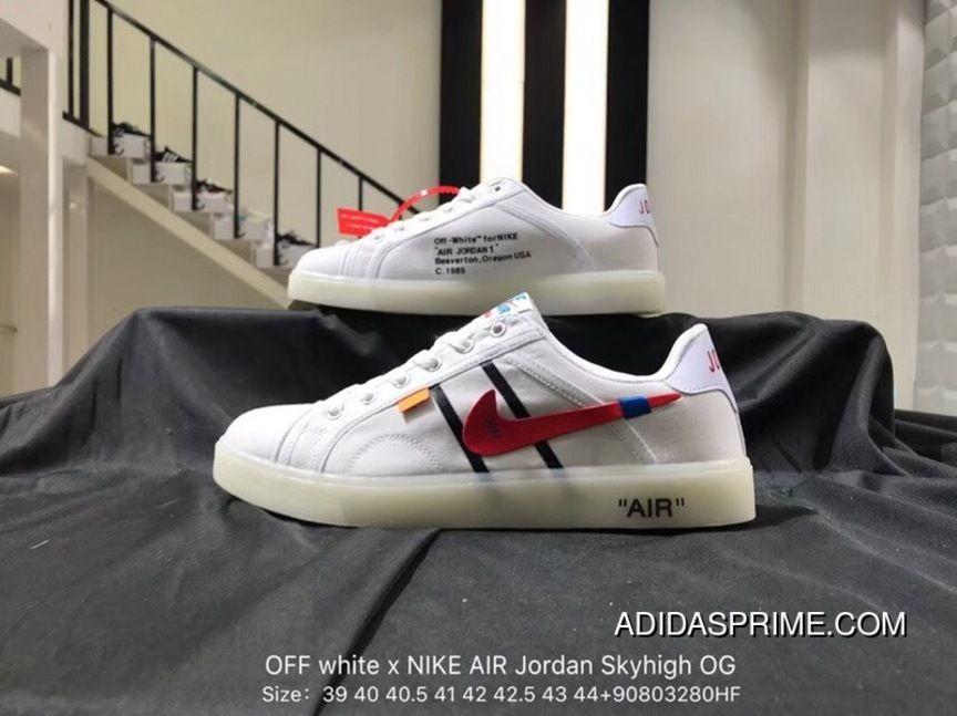 Nike OFF White X AIR Jordan Skyhigh OG Collaboration