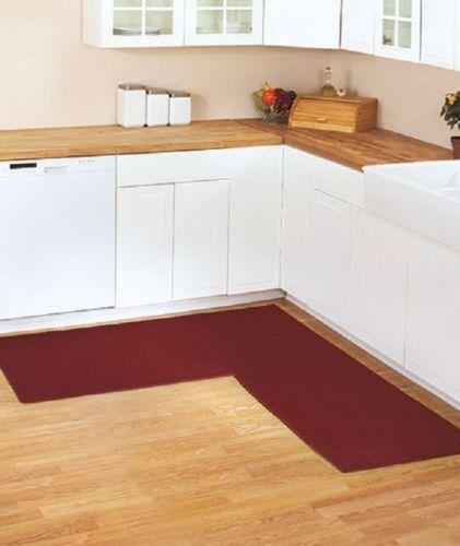 Corner Runner Rug Carpet Berber Kitchen Hallway Garage L Shaped 68